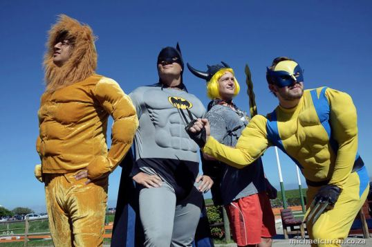 Superheroes take their job of saving the world very seriously