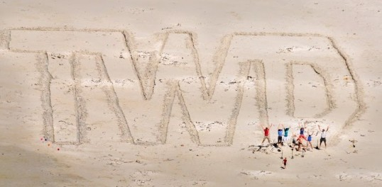 Photograph by John Sherry, coordinator of the TWD challenge, Beach Writing, which took place on Sunday
