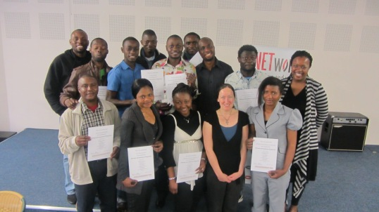 Graduates of NETwork's most recent Job Readiness programme