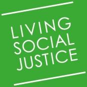 Living Social Justice stamp