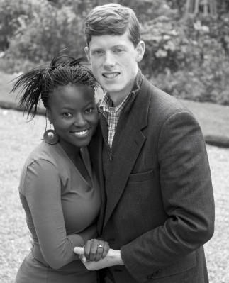 Dan and his wife, Sindiso