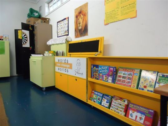 The literacy programme centre at Kewtown Primary